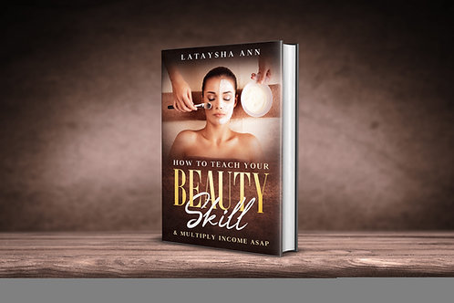 How to teach your beauty skill e book