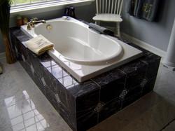 Custom - Marble master bath