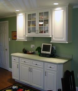 Custom - Painted white maple
