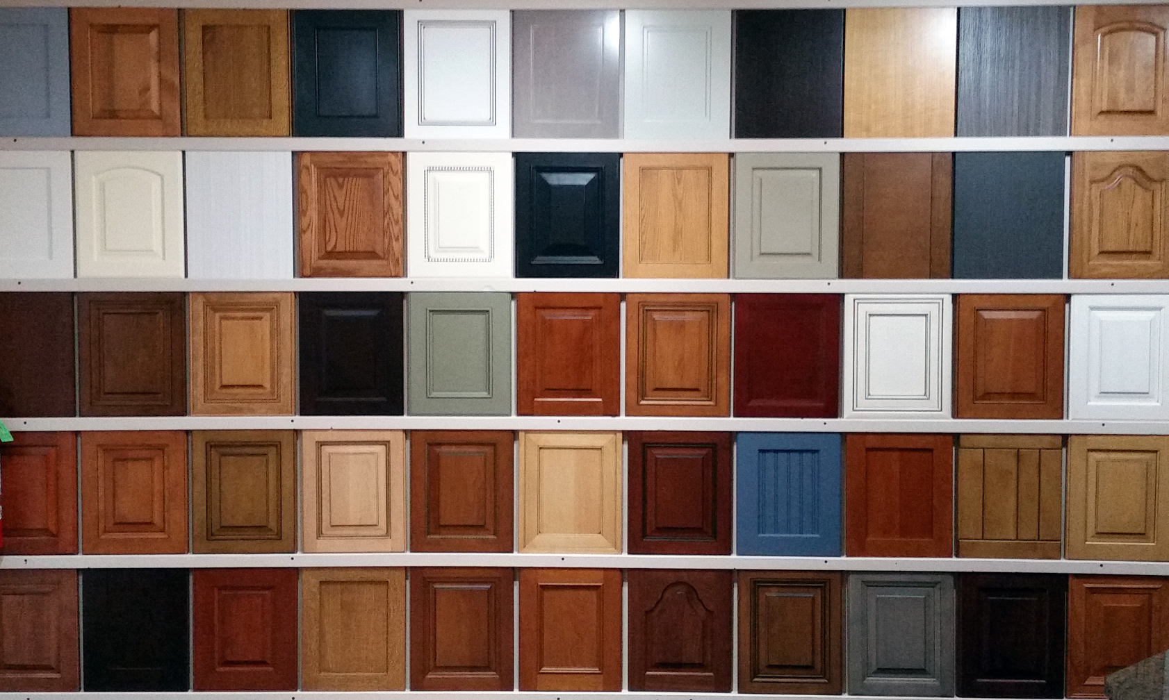 Door Sample Wall