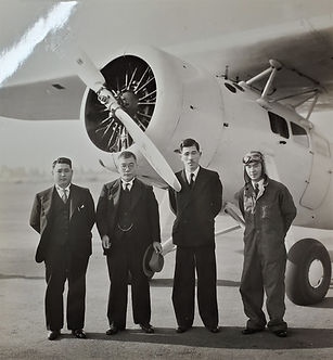 Airplane that Rev. Seki came to New York in 1936.jpg