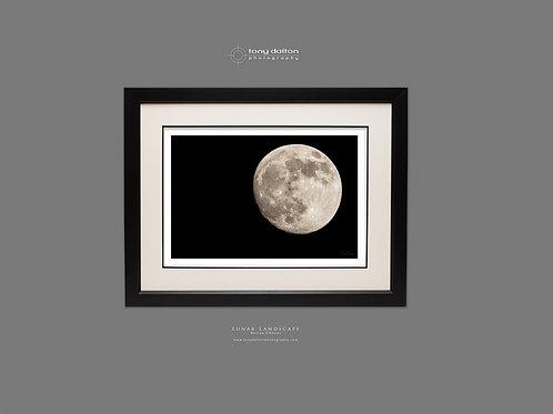 Lunar Landscape Waxing Gibbous