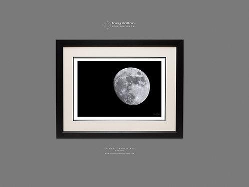 Lunar Landscape Blue Moon