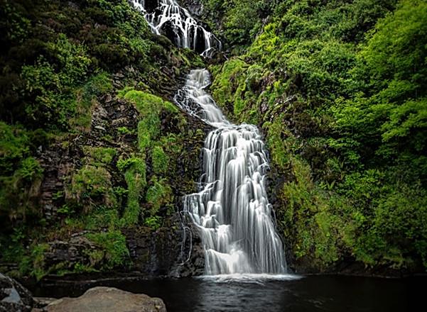 Assaranca Waterfall Ardara, Co. Donegal Ireland