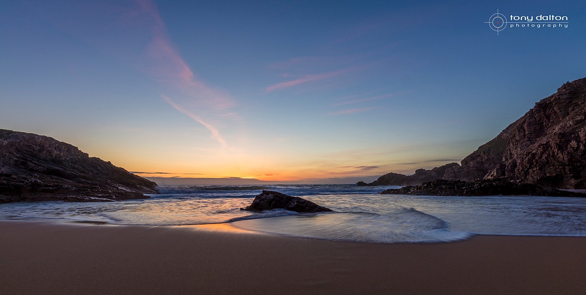 Boyeeghter Bay Sunset, Donegal