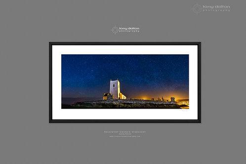 Ballintoy Church Starlight