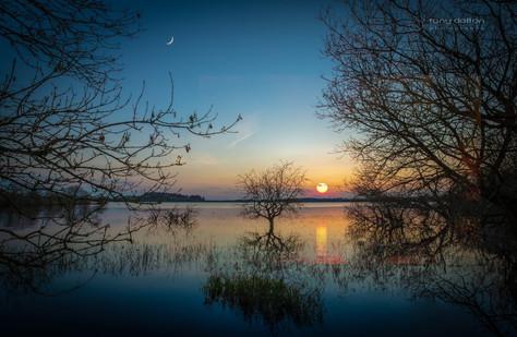 Stoneyford Lake Sunset