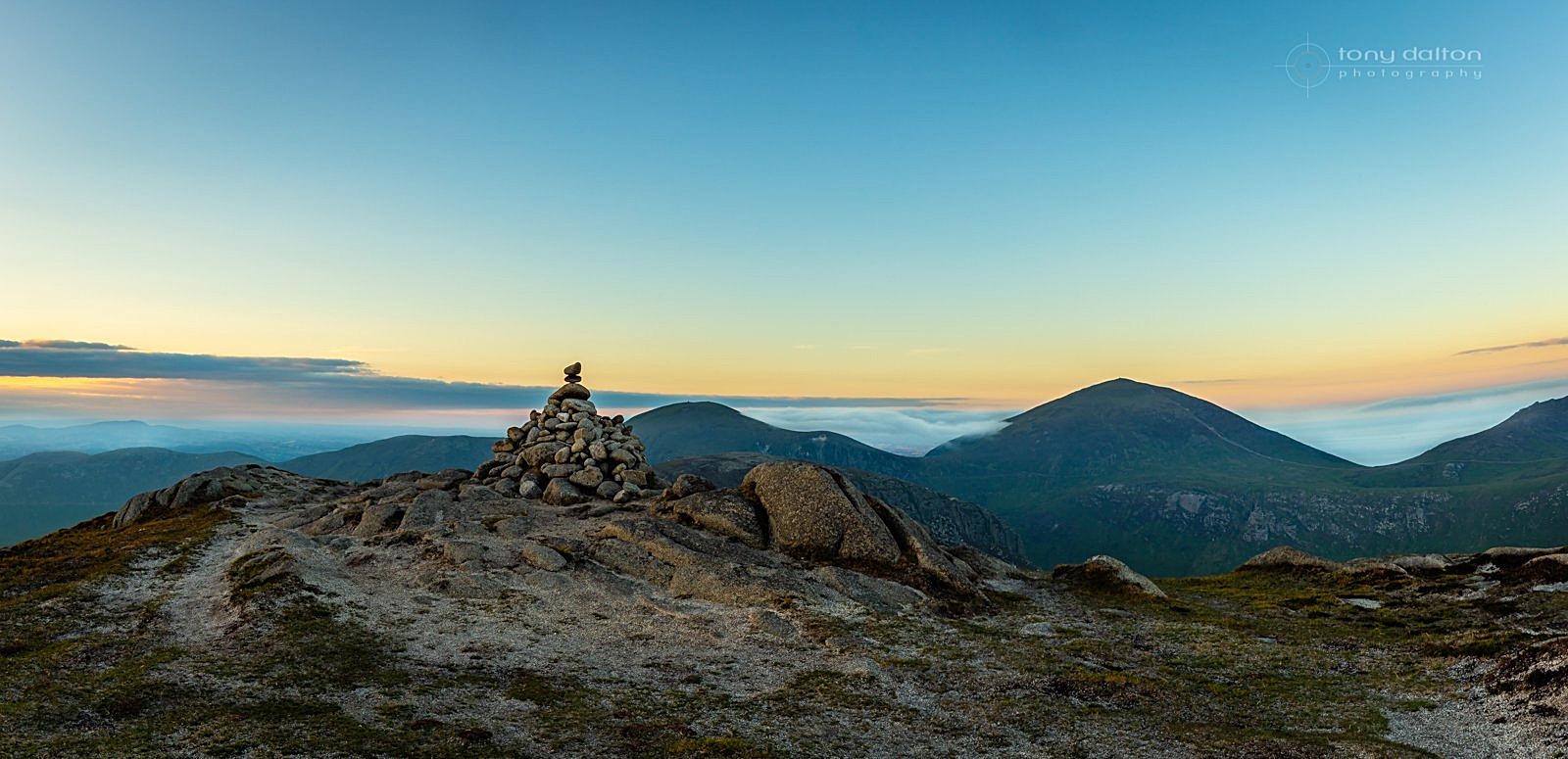 Slieve Lamagan, The Mournes