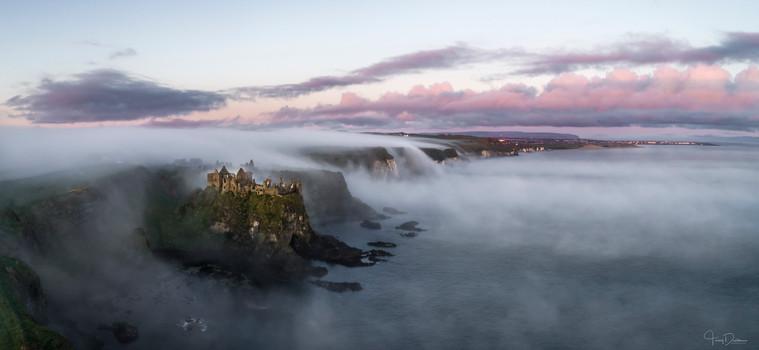 Dunluce Castle Lava Clouds