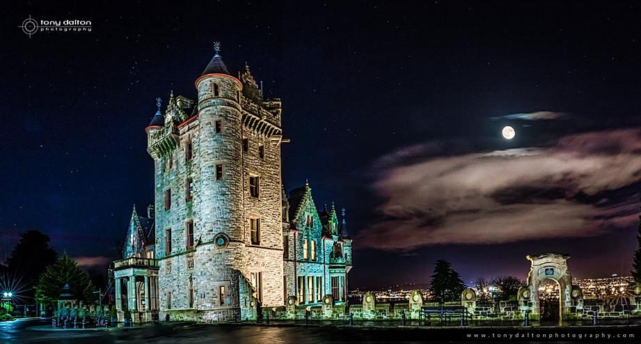 Belfast Castle by Moonlight