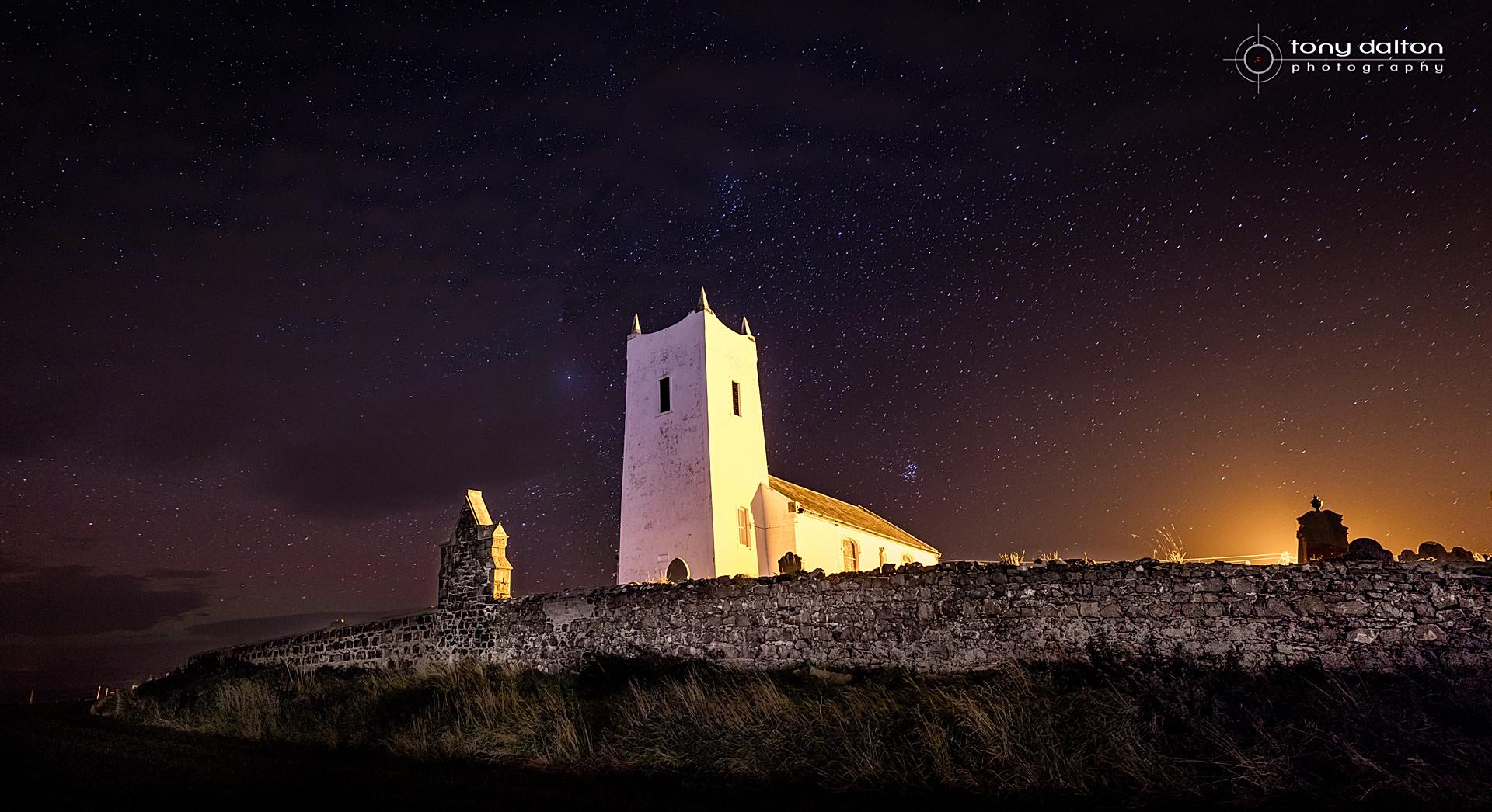 Ballintoy Church Starfield