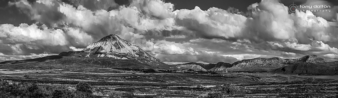 Mount Errigal and Dunlewey