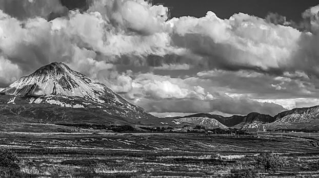 Mount Errigal and Dunlewey