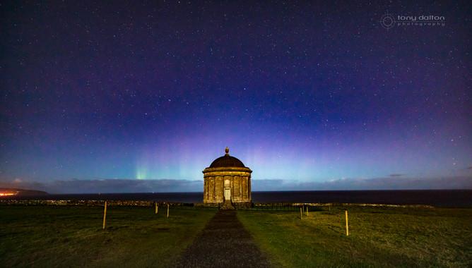 Mussenden Temple Aurora