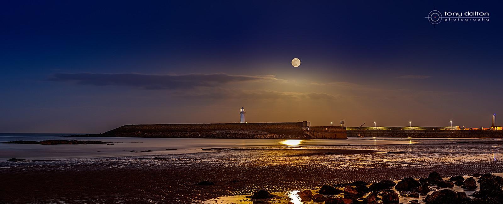 Donaghadee Moonrise