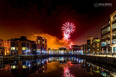 Halloween Fireworks, Clarendon Dock