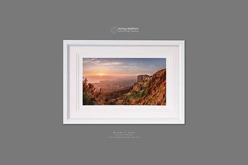 McArt's Fort Sunrise - White Frame