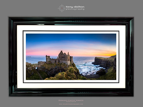 Dunluce Castle Sunrise