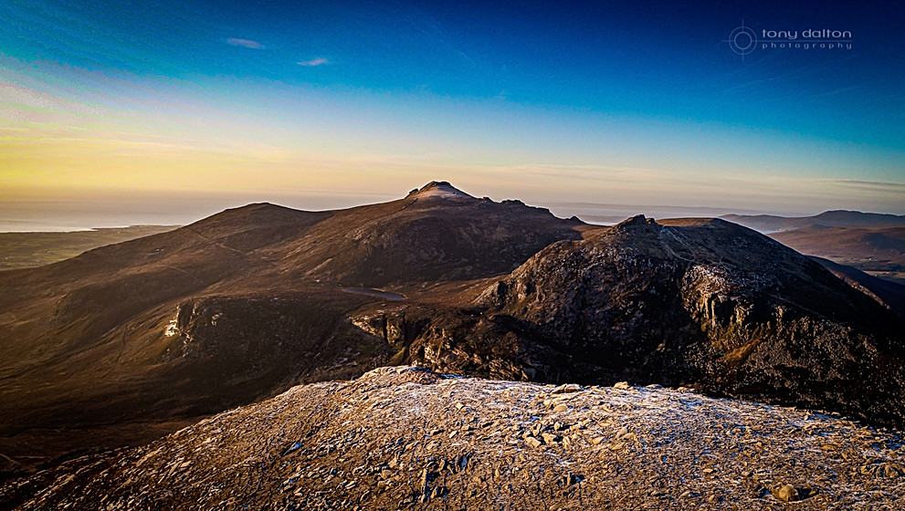 Slieve Lamangan, The Mournes, County Down