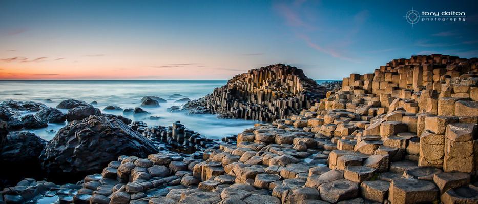 Giant's Causeway Sunset