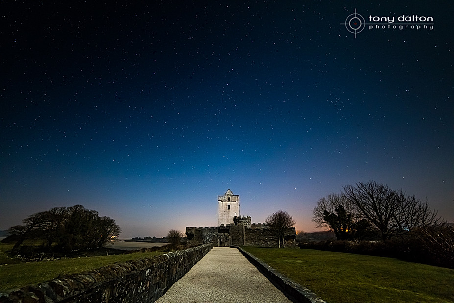 DOE Castle Night Skyscape