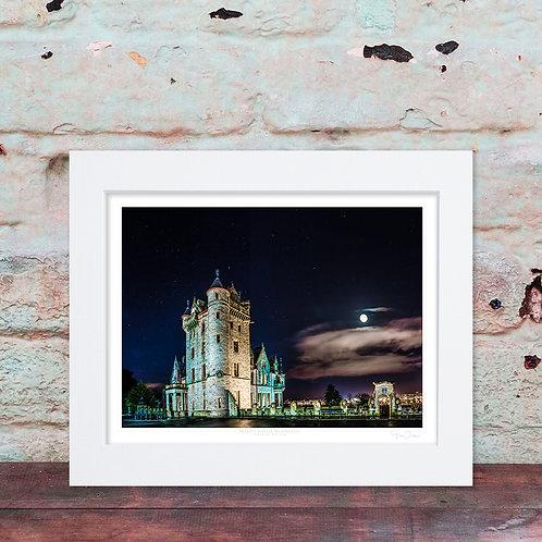 Belfast Castle Moonlight