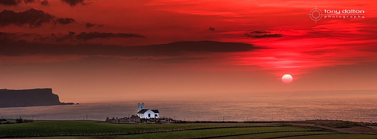 Ballintoy Sunset