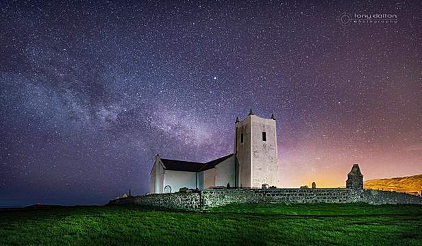 Ballintoy Church Milky Way