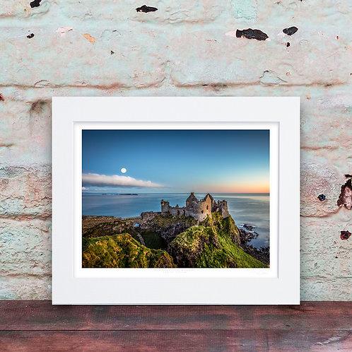 Dunluce Castle Moonrise