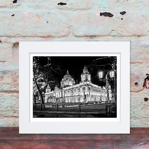 City Hall Belfast (BW)
