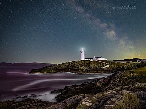 Fanad Head Lighthouse Milky Way