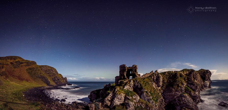 Kinbane Castle Midnight