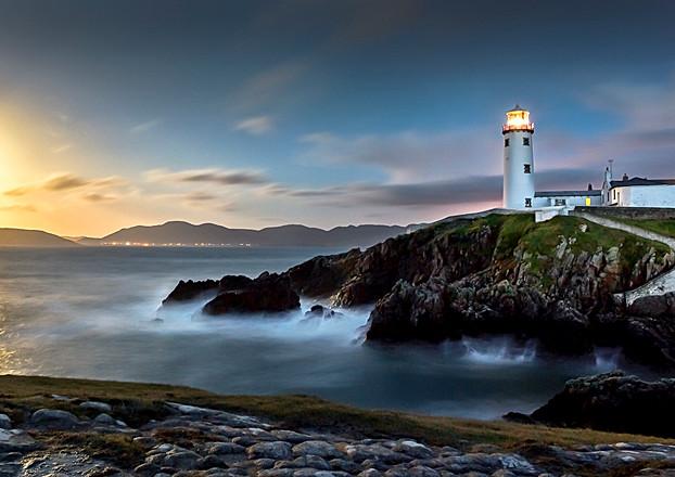 Fanad Head Lighthouse at Midnight