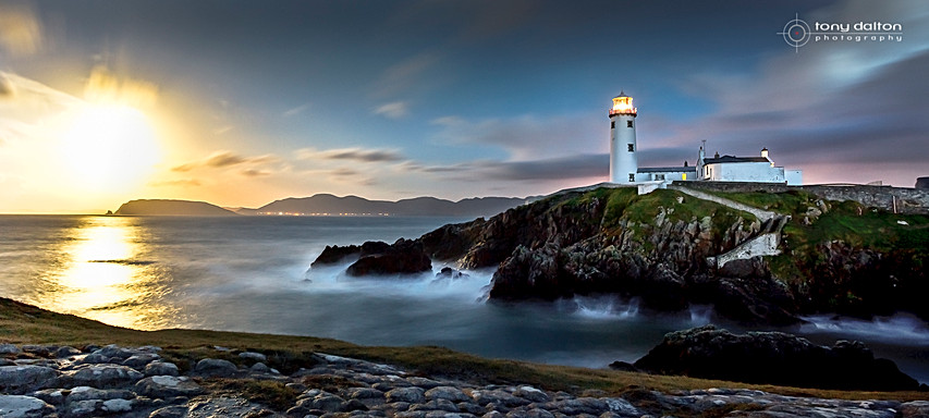 Fanad Head Lighthouse at Midnight