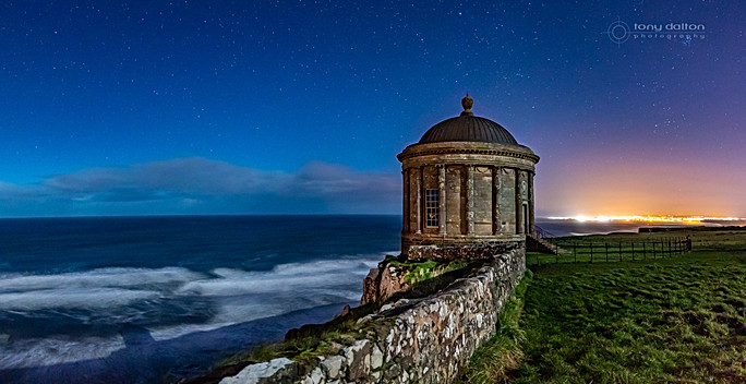 Mussenden Temple by Moonlight