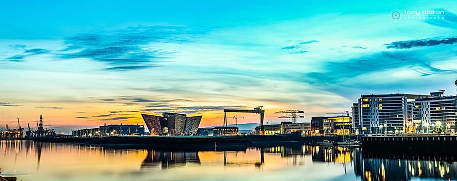 Titanic Quarter Sunrise