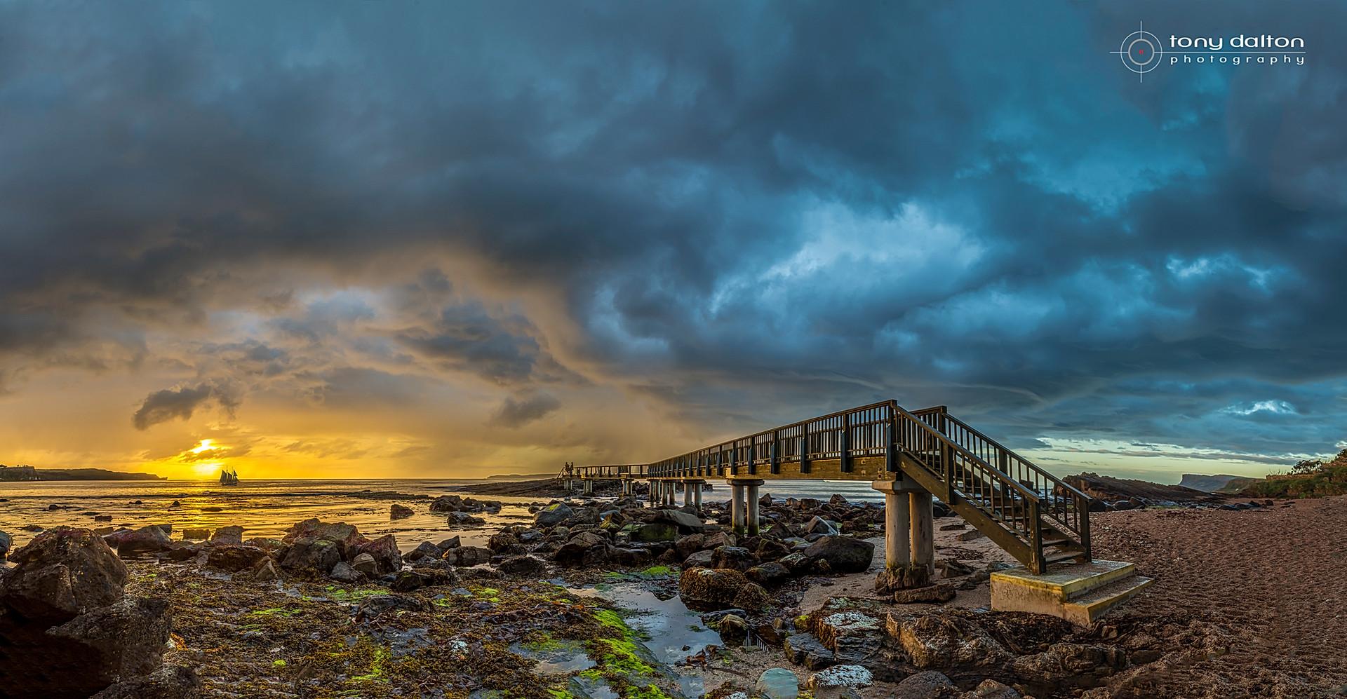 Ballycastle Storm Clouds
