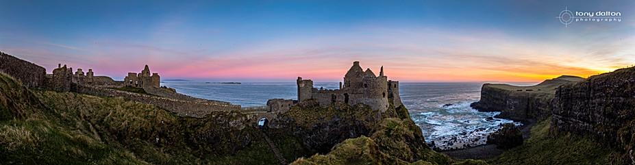 Dunluse Castle, Sunrise
