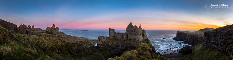 Dunluce Castle Sunrise