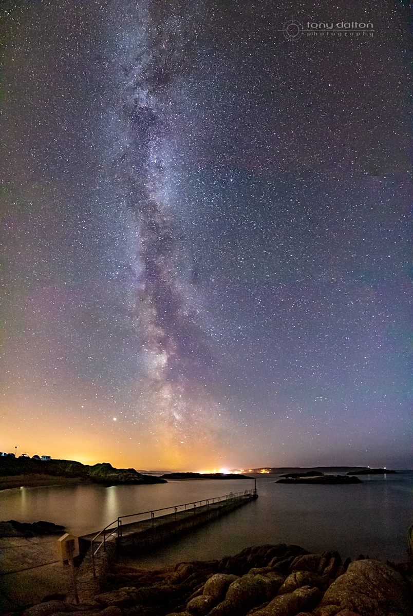 Cruit Island Milky Way, Donegal