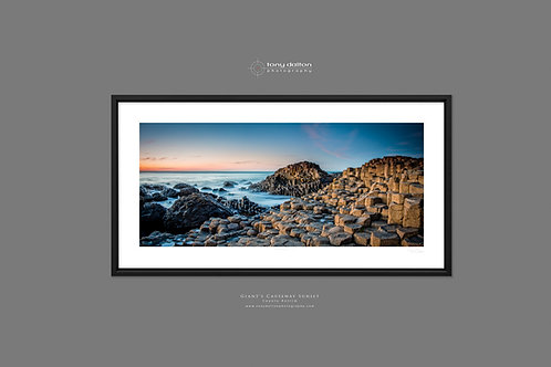 Giant's Causeway Sunset - Contemporary Style