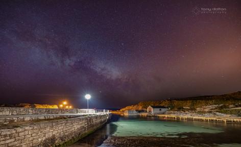 Ballintoy Harbour Milky Way