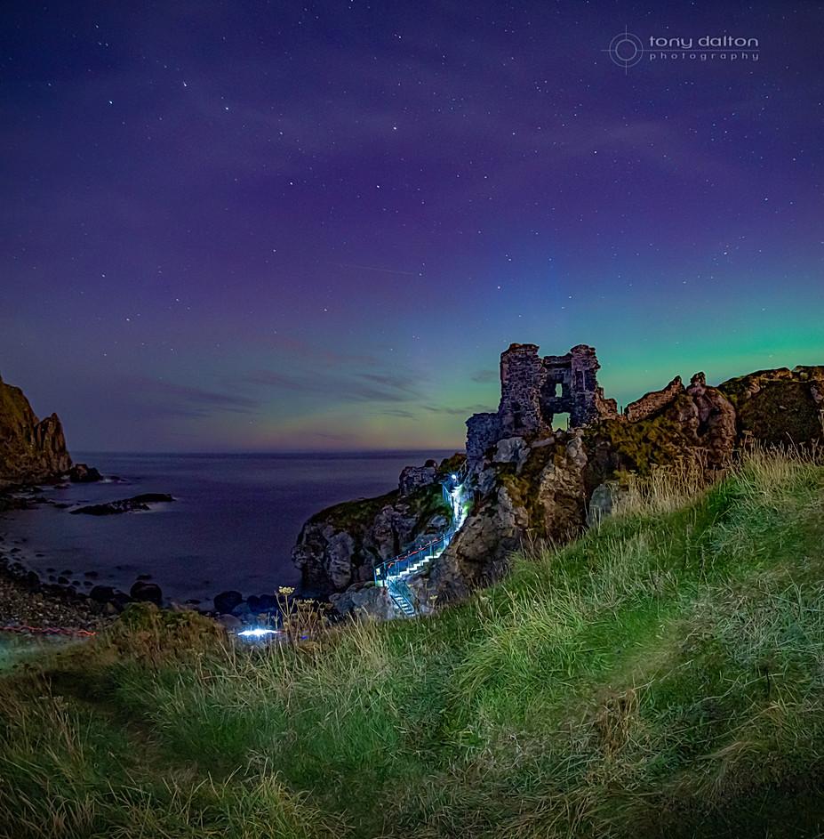Kinbane Castle Lightshow