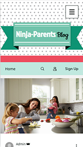 See All Templates website templates – Parenting Blog