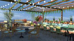 Perspective 3D terrasse