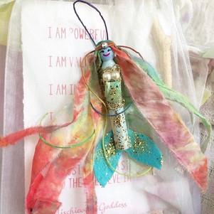 Mermaid doll craft