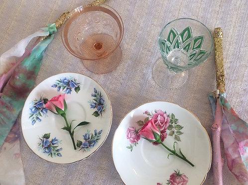 Cordelia Goddess Tea Set (for 2)