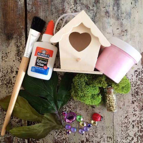 Decorate a Fairy House
