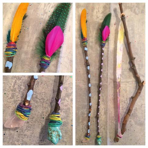 Decorative Bow and Arrow