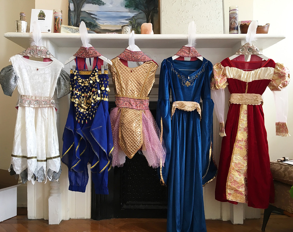 Princess Warrior Costumes